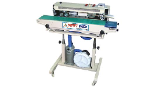 Air Flushing Continuous Band Sealer and SPCS 900AF Air