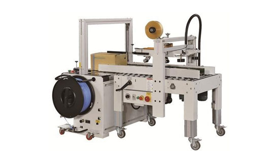 Automatic Taping & Strapping Machine